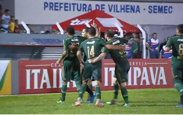 Vilhena Palmeiras copa do brasil (Foto: Reprodução SporTV)