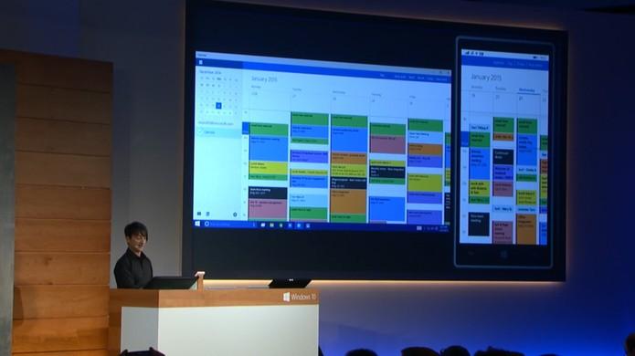Windows 10 e Calendário (Foto: Reprodução)