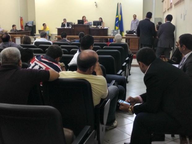 Advogados pediram convalidação de alguns depoimentos de testemunhas da Operação Apocalipse que já foram colhidos (Foto: Karla Cabral/G1)