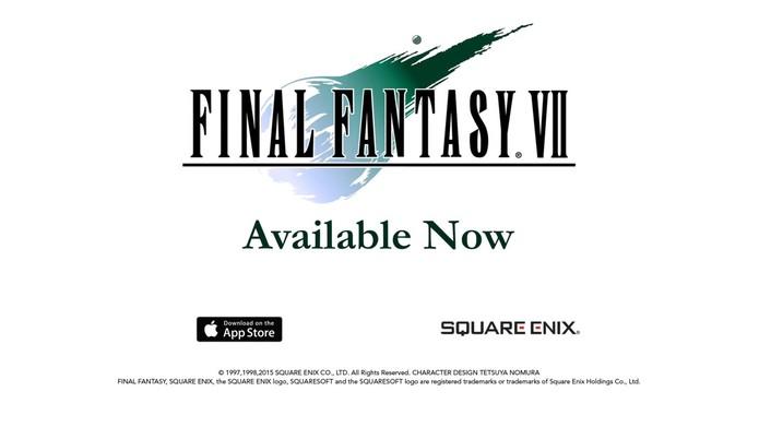 Final Fantasy 7 pode ser adquirido por US$ 20 (R$ 70) na App Store (Foto: Divulgação/Square Enix)