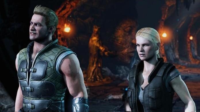 Johnny Cage e Sonya Blade são confirmados para Mortal Kombat X (Foto: Reprodução/YouTube)