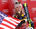 Lindsey Vonn reassume liderança do ranking no Super-G e amplia recorde