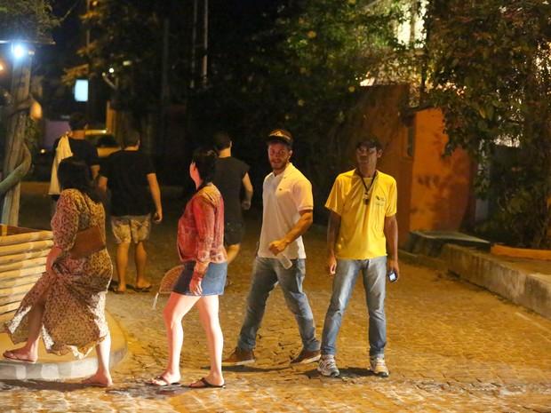 Klebber Toledo em Trancoso, na Bahia (Foto: Gabriel Rangel/ Ag. News)