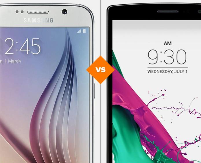 Galaxy S6 ou LG G4? Confira quem vence essa batalha (Foto: Arte/TechTudo)