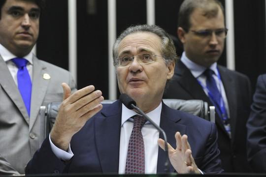 O presidente do Senado, Renan Calheiros (PMDB-AL) (Foto: Geraldo Magela/Agência Senado)