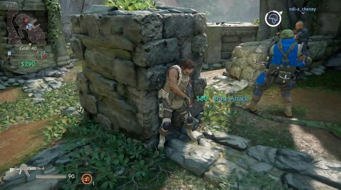 Troca de tiros é frenética em Uncharted 4 (Foto: Divulgação)