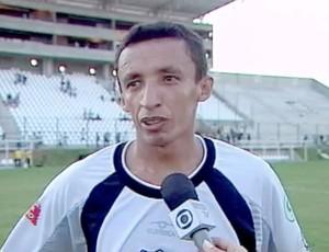 ABC 100 anos - Kel - autor do primeiro gol do ABC no Frasqueirão (Foto: Reprodução/Inter TV Cabugi)