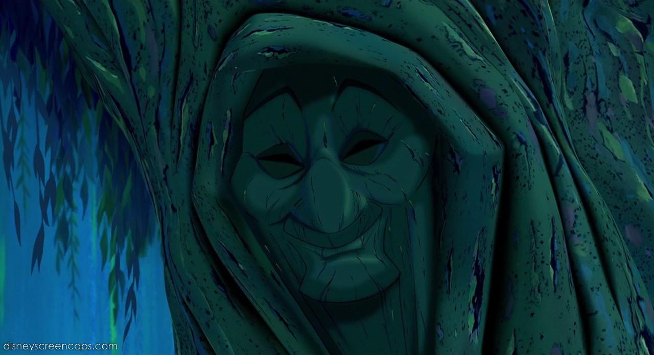 Avó Willow (Pocahontas) (Foto: Divulgação)