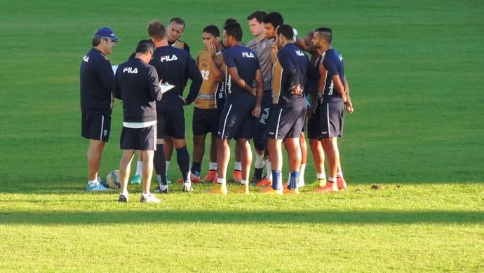 Avaí apresenta (Foto: Diego Madruga)