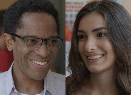 Luciana tem ideia para unir Leal Brazil e Dom Fernão