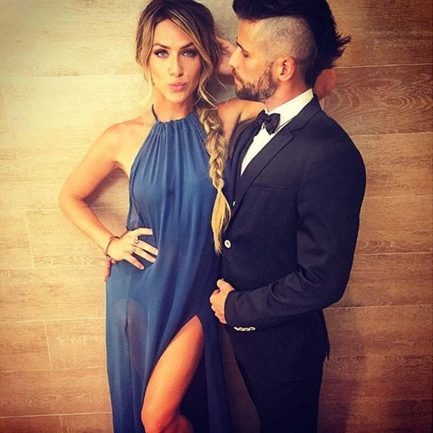 Giovanna Ewbank e Bruno Gagliasso no casamento de Paulo Gustavo no Rio (Foto: Instagram/ Reprodução)