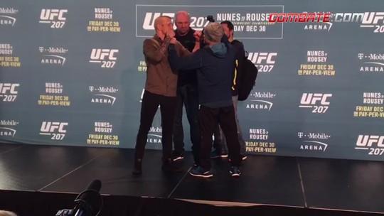 Sem Ronda, Amanda, Garbrandt e Cruz, UFC promove encaradas mornas