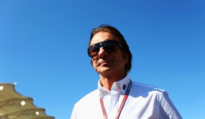O bicampeão Emerson Fittipaldi comemora a permanência de Felipe Massa na F-1 (Foto: Getty Images)