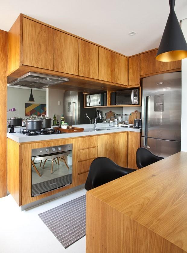 12 cozinhas pequenas com projetos inteligentes casa