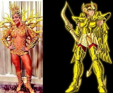 Internautas fazem piada com fantasia de Claudia Leitte (Foto: Reprodução/Twitter)