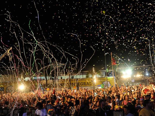 Público lota Marco Zero (Foto: Diego Moraes / G1)