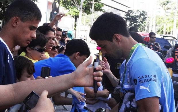 Luis Suarez uruguai (Foto: Franco Benites)