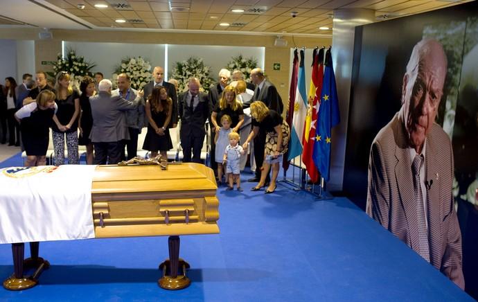 Enterro Di Stefano (Foto: Getty Images)