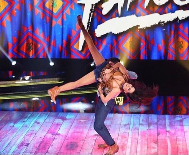 Leticia Lima na Dança dos Famosos (Foto: Reprodução)