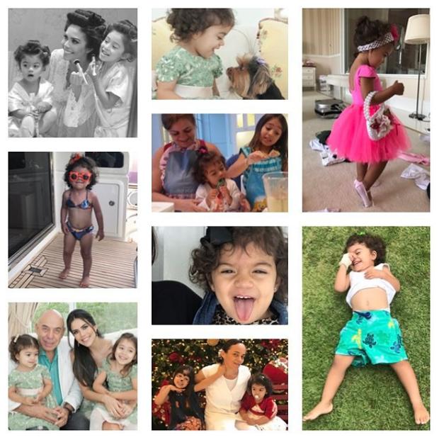 Daniela Albuquerque posta homenagem à filha Antonella (Foto: Reprodução/Instagram)