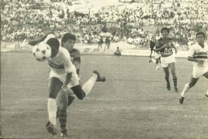 Valter Maranhão em ação em um Rivengo (Foto: Acervo Severino Filho)