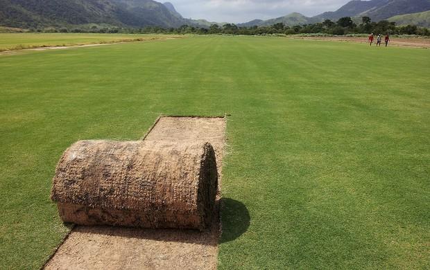 gramado para o estádio maracanã (Foto: Divulgação)