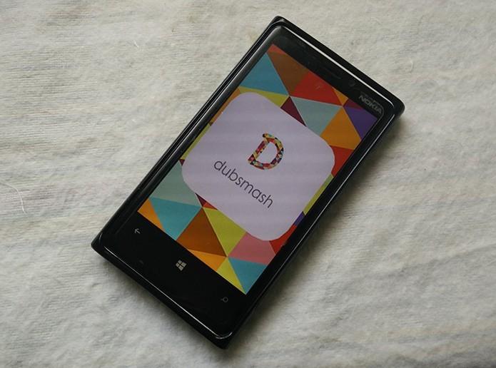 Dubsmash permite gravar selfies em vídeo com dublagens divertidas no celular (Foto: Elson de Souza/TechTudo)