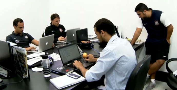 Cifut - Centro de Inteligência no Futebol - Corinthians (Foto: reprodução)