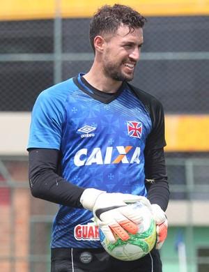 Martin Silva treino do vasco (Foto: Marcelo Sádio / vasco.com.br)