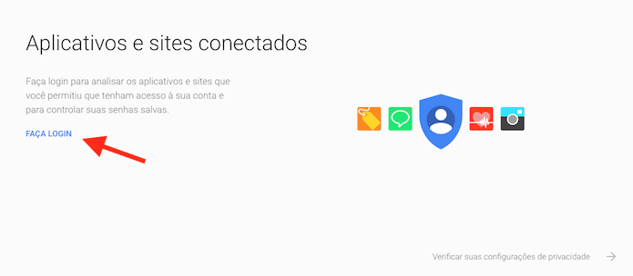 Como desconectar sua conta do Google de sites e aplicativos