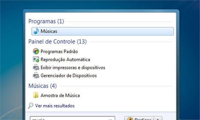 Localizador de arquivos direto no menu Iniciar (Foto: Divulgação/Microsoft)