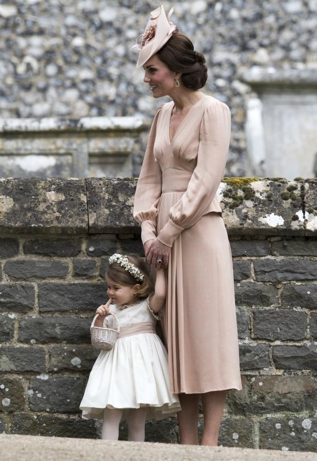 Look do casamento de Pippa Middleton saiu por 11.500 libras (Foto: Getty)