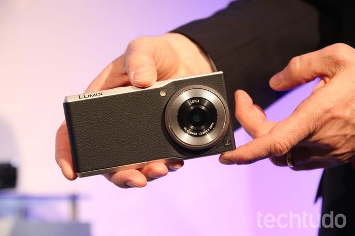 Linha câmeras Lumix também teve destaques (Foto: Fabrício Vitorino / TechTudo)