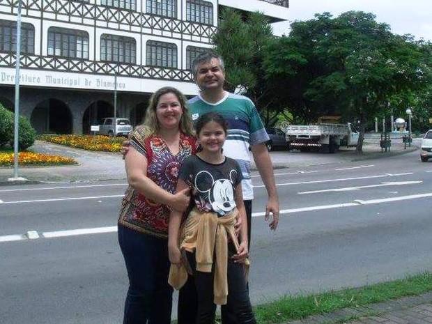 Família foi a base para a recuperação, segundo Rolden (Foto: Rolden Baptista/Arquivo Pessoal)