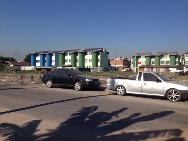 Vítimas estavam em Guarujá quando foram executadas (Foto: Mariane Rossi / G1)