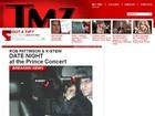Kristen Stewart e Robert Pattinson curtem show do Prince juntos, diz site