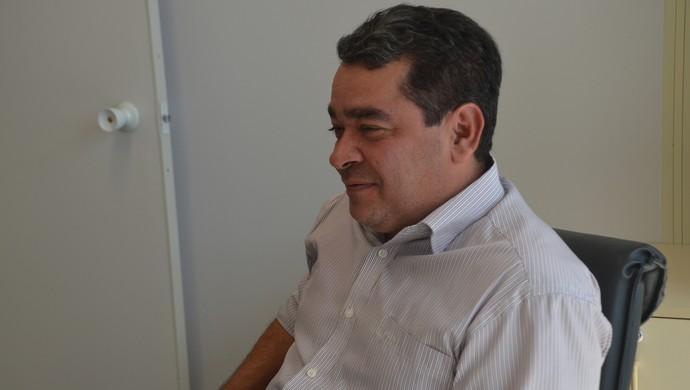 Amadeu Rodrigues, presidente da FPF (Foto: Hévilla Wanderley / GloboEsporte.com/pb)