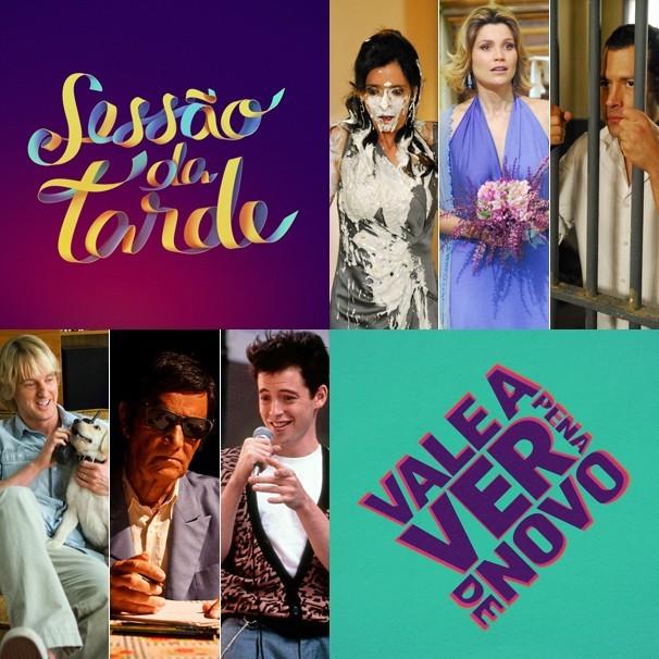 Vale a Pena Ver de Novo e Sessão da Tarde invertem horários; entenda tudo (Foto: Rede Globo)