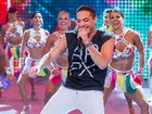 Wesley Safadão canta sucessos do carnaval neste Domingão do Faustão