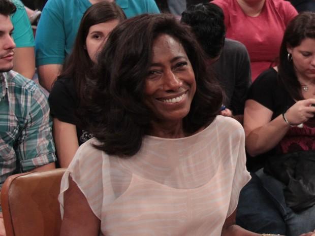 Gloria Maria participa do programa de Serginho Groisman (Foto: Marcos Mazini/Gshow)