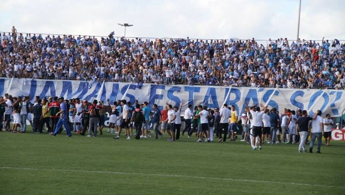 Avaí comemoração acesso (Foto: Jamira Furlani/Avaí FC)