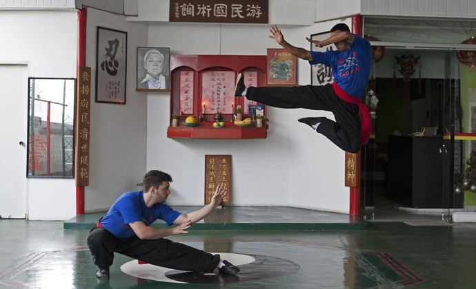 Lee Wah Kung Fu São José (Foto: Paulo Maia/ Divulgação)