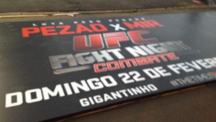 UFC no Gigantinho, em Porto Alegre (Foto: Tomás Hammes/GloboEsporte.com)