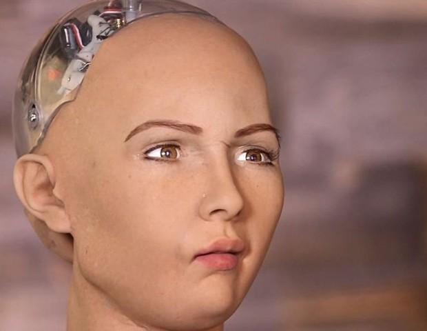 Robô Sophia (Foto: reproduçao)