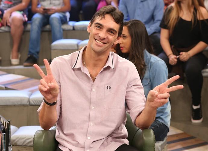 Giba participa da gravação do programa Altas Horas (Foto: Carol Caminha/Gshow)
