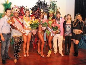 Corte do Carnaval de Mogi das Cruzes em 2013 (Foto: Guilherme Berti/PMMC)