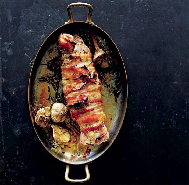 Bacon, alecrim e alho, uma receita tipicamente italiana (Foto: Nicole Franzen)