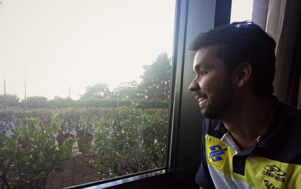 William levantador seleção vôlei (Foto: João Gabriel Rodrigues)