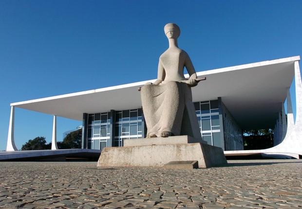 Sede do Supremo Tribunal Federal (STF) em Brasília (Foto: Agência Brasil/Arquivo)