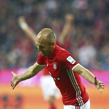 Robben Bayern de Munique x Hertha Berlin (Foto: Reuters)